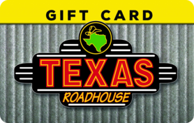 $5 Texas Roadhouse Gift Card