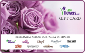 $10 1-800-Flowers.com Gift Card
