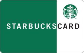 £10 Starbucks Card Gift UK