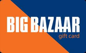 100 INR Big Bazaar Gift Card