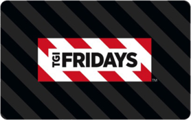 $10 TGI Fridays Gift Card