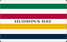 5 CAD Hudson's Bay Company Gift Card