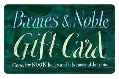 $10 Barnes & Noble Gift Card