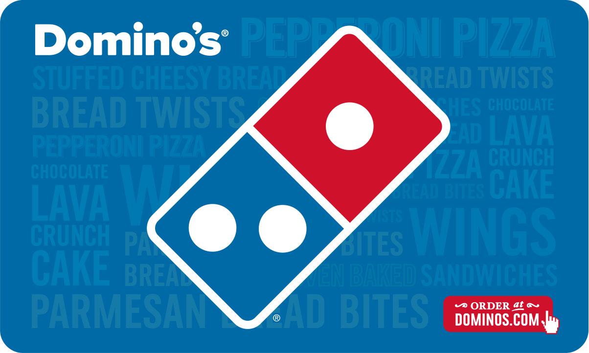 $25 Domino's Pizza Gift Card