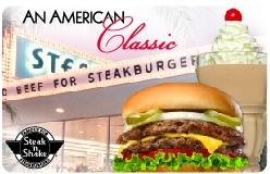 $10 Steak n Shake Gift Card - Emailed