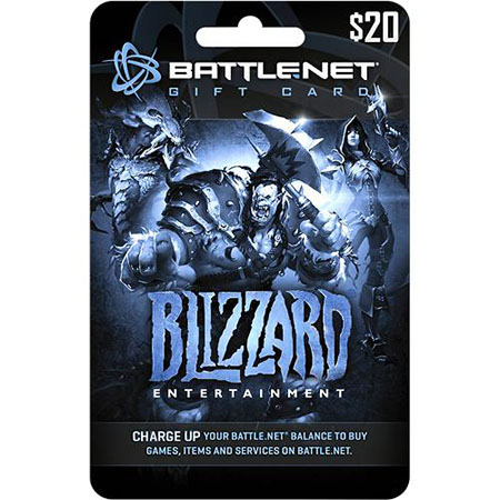 $20 Battlenet Gift Card