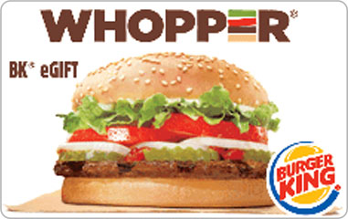 $5 Burger King® eGift