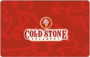 $10 Coldstone Creamery Gift Card - Emailed