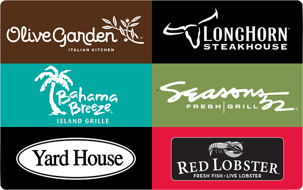 Free Darden Restaurants Inc Gift Card Prizerebel