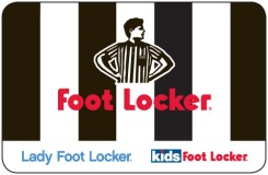 $10 Foot Locker Gift Card - Emailed
