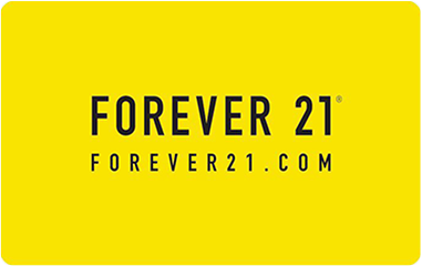 $25 Forever 21 Gift Card - Emailed