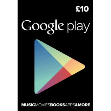 10 GBP UK Google Play eCard