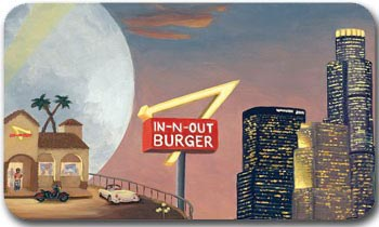 $25 In-N-Out Burger Gift Card - Shipped