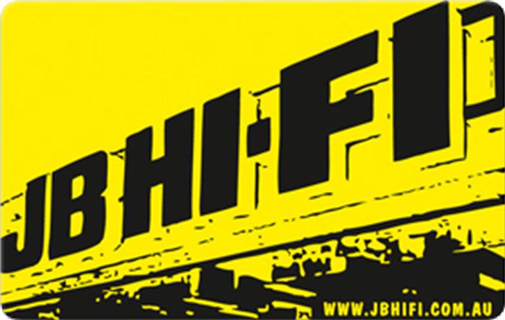 $10 AUD JB Hi-Fi eCard