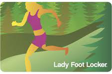 $25 Lady Foot Locker Gift Card - Emailed