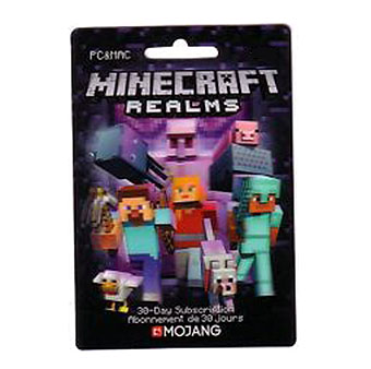 Minecraft Realms 30 Day Subscription T3G2f6QT