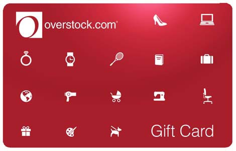 $15 Overstock.com Gift Card