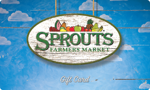 $10 Sprouts Farmers Market Gift Card - Shipped