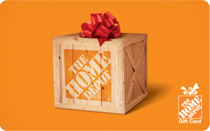 $10 The Home Depot Gift Card