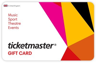 £10 Ticketmaster eGift Card UK