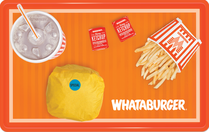 $15 Whataburger Gift Card - Shipped