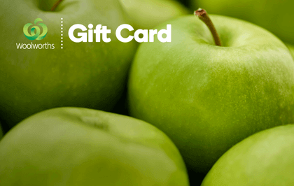 $100 AUD Woolworths eGift Card